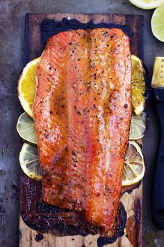 A five starsalmon recipe that gets infused with a lemon, lime and orange marinade. It grills to tender and flaky ...