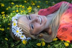 Daisy Flower Crown Daisy Headband Daisy Wreath by FlowerHungry
