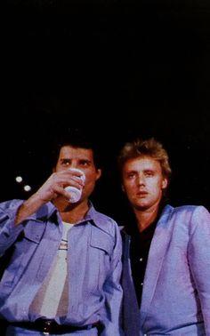 Roger Taylor - Freddie Mercury