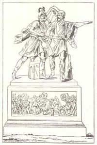 раскраска памятник минину и пожарскому пляжи рабочем