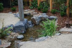 At NatureBuild we specialize in Natural Water features, Ponds, Timber pergolas, decks and bridges, stone and boulder work and landscape construction/design using natural materials. Stone Water Features, Pond Waterfall, Planting Plan, Landscape Services, Post And Beam, Exposed Beams, Construction Design, Water Garden, Natural Materials