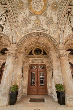 Hungary - Budapest - Hungarian State Opera House Entrance | Flickr - Photo Sharing!