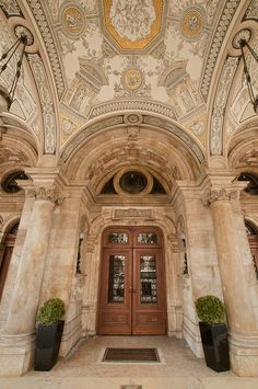 Hungary - Budapest - Hungarian State Opera House Entrance | Flickr - Photo Sharing!