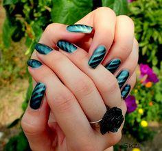 PUPA Magnetic Nail Polish, 32 Magnetic Green Nail Polishes, Nails, Magnetic Nail Polish, Canvases, Nail Art, Green, Beauty, Jewelry, Finger Nails