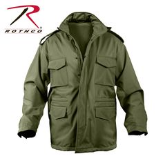 Rothco Soft Shell Tactical M-65 Jacket now in Olive Drab