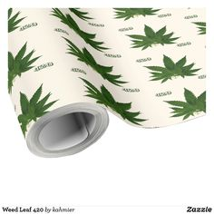 Weed Leaf 420 Wrappi