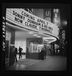 Hollywood, California. Sign and ticket window of a large dance palace  http://photogrammar.yale.edu/