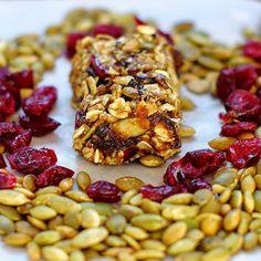 Within the Kitchen: Pumpkin Cranberry No-Bake Granola Bars
