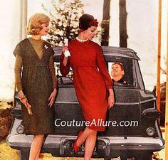 Couture Allure Vintage Fashion: Vintage Maternity Fashions - 1960
