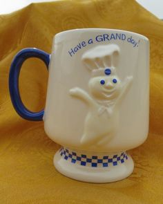 Pillsbury DougBoy Coffee Cup
