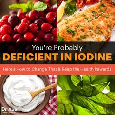 Iodine deficiency - Dr. Axe http://www.draxe.com #health #holistic #natural