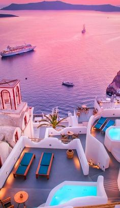 Your Santorini travel guide. The most romantic island in Greece, Santorini offers dazzling vistas, postcard-worthy sunsets, volcanic beaches and much more. Vacation Places, Vacation Destinations, Dream Vacations, Vacation Spots, Turkey Destinations, Vacation Hair, Jamaica Vacation, Vacation Ideas, Greece Vacation
