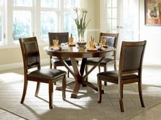 5 Pc. Helena Dining Set In Deep Cherry Finish at $599 with Free Delivery in the Henderson/Las Vegas area