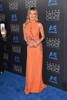 All The Looks At The 2015 Critics Choice Television Awards - Cat Deeley