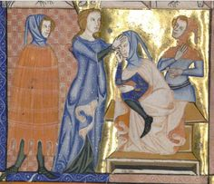Cloaks, Medieval Clothing, Mantles, 14th Century, Hoods, Miniatures, France, Sculpture, Costumes