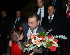 King Mohammed of Morocco arrives in the U.S. for a state visit 11/20/2013