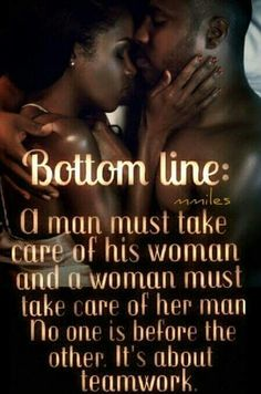 Take care if me and i will take care of you!...#bottomline