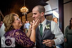 Reception bride and groom exit picture at Elizabeth Claires by Amanda May Photos