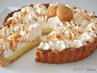 Crostata con crema all'amaretto e panna | Ricetta