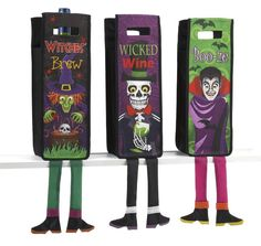 Witches Brew Halloween Wine Bottle Bag, make it life size?