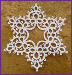 Great tatting pattern idea from Murphy's Design - machine emboridery
