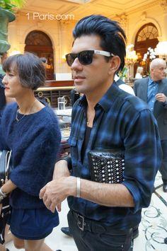 Paris Fashion Week in September 2013  Champs Elysees Paris, Vintage photo  http://www.1-paris.com/Photogallery
