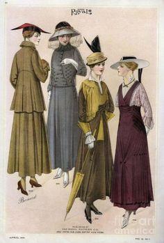 女性美基準の輪郭の変化1:20世紀初頭まで – モードの世紀
