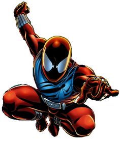 . Chibi Marvel, Marvel Art, Marvel Heroes, Marvel Characters, Marvel Comics, Comic Books Art, Comic Art, Scarlet Spider Ben Reilly, Amazing Fantasy 15