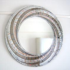 Vortex - 90cm Mosaic Mirror by Mirror Envy
