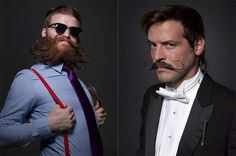 Portraits from the 2013 National Beard & Mustache Championships