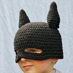 Batman knit hat