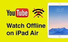 Downloading #YouTube videos to #iPad Air is much easier than you think :) And the guide is here >> http://softorino.com/youtube-converter/download-youtube-videos-ipad-air
