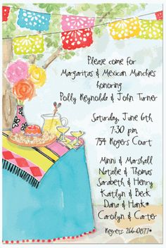 birthday fiesta mexican style party invitation template sweet