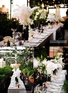 Glamorous NYC Wedding From Brian Dorsey Studios - MODwedding #everswoonwedding