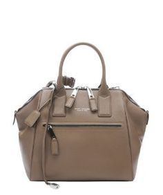 Marc Jacobspeony leather leather large 'Incognito' convertible trapeze bag