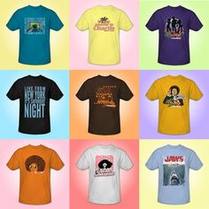 Groovy 70's Tshirts