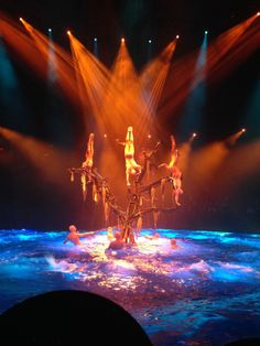 Le Reve - Cirque du Soleil - Such an awesome show. I want to see it again!