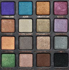 Urban decay Alice in wonderland pallet, I need this!