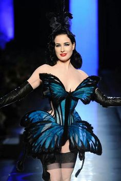Character Inspiration: Lunette {Jean Paul Gaultier 2014 Madame Butterfly Dita Von Teese}