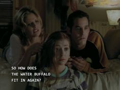 So how does the water buffalo fit in again? // Buffy the Vampire Slayer