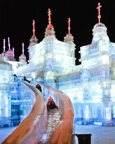 Harbin Ice and Snow Sculpture Festival - Harbin, China | Fest300 #IceSculpture…