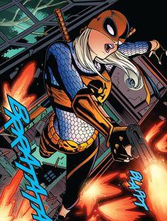 Joe Bennett Comics Anime, Dc Comics Art, Marvel Dc Comics, Comic Book Pages, Comic Books, Deathstroke The Terminator, Rose Wilson, Nightwing And Starfire, Western Comics