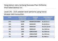Succes Plan Oriflame Tahap 1 Dengan support sistemnya yg kereen baik online maupun offline, bisa banget kita raih :)