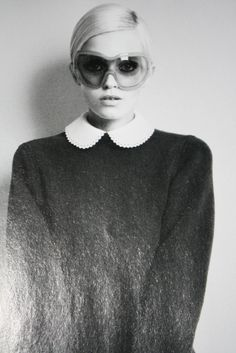 #AbbeyLeeKershaw by #RichardBush for #iD October 2011