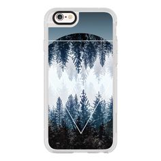iPhone 6 Plus/6/5/5s/5c Case - Woods 4 (50 CAD) ❤ liked on Polyvore featuring accessories, tech accessories, iphone case, apple iphone cases, iphone cover case and iphone hard case