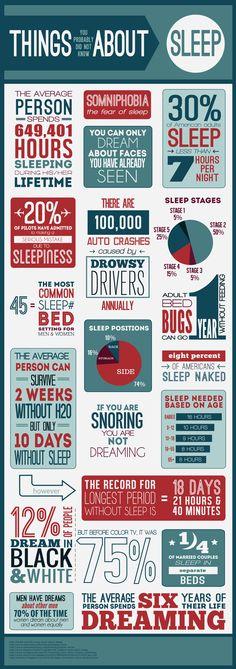 Sleep Facts Infographic!