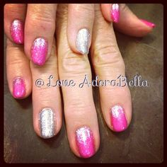 Everything's Better w/ Glitter #nails #nail #fashion #style #cute #beauty #beautiful #instagood #pretty #girl #girls #stylish #glitter #sparkles #styles #nailart #art #love #shiny #polish #pink #gelpolish #gelnails #maniq #nailswag #follow #loveadorabella