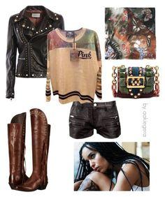 """for Zoe Kraviz"" by aakiegera on Polyvore featuring мода, Valentino, Ariat, IRO, Gucci, Victoria's Secret и Burberry"