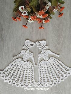 Crochet doily Crinoline Lady Doily lace Applique girl home decoration Christmas gift - Crochet Ideas Crochet Gifts, Crochet Doilies, Crochet Flowers, Crochet Lace, Lace Doilies, Crochet Motif, Doily Patterns, Applique Patterns, Crochet Patterns