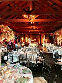 The perfect spot for a Wedding Reception - The Grand Hall at The Mountain Winery !! Photography by: LucieXYZ Photography